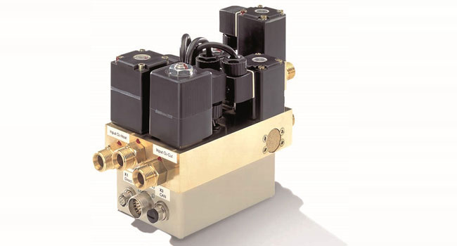 Gas control system for flame cutting
